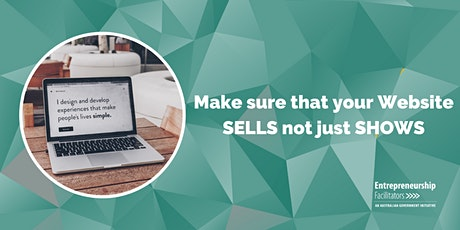 WEBINAR -Make sure that your Website SELLS not just SHOWS tickets
