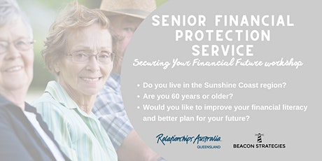 Securing your financial future (Relationships Australia Queensland) tickets