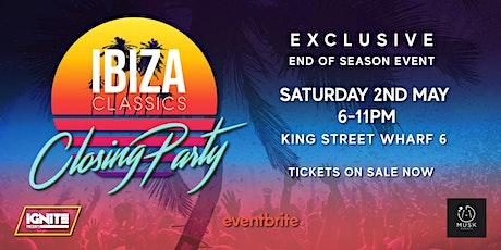 IBIZA Classics Closing Party! tickets