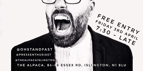 Oh Standfast Book Launch @ the Alpaca, Islington tickets