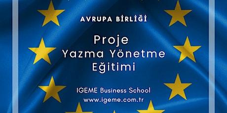 AB HİBE PROJE YAZMA EĞİTİMİ İGEME (ÜCRETLİ)-İSTANBUL tickets