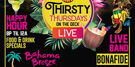 Thirsty Thursdays tickets