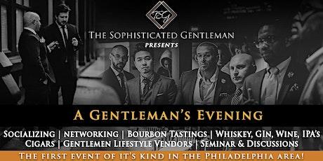 A Gentleman's Evening! tickets