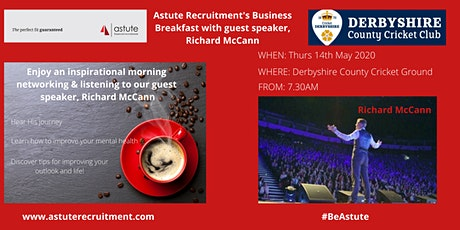 Complimentary Business Breakfast With Richard McCann. tickets