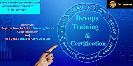 Devops 3 Days Certification Training in Salina, KS,USA tickets