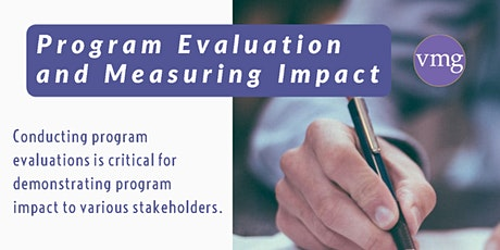 Program Evaluation for Nonprofit Management tickets
