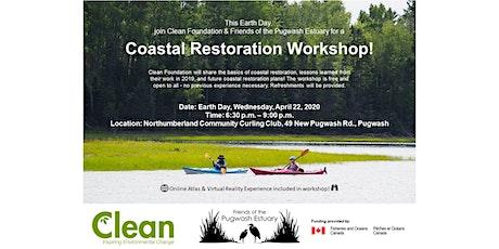 Earth Day Coastal Restoration Workshop tickets