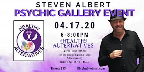 Steven Albert: Psychic Gallery Event - Healthy Alternatives 4/17 tickets