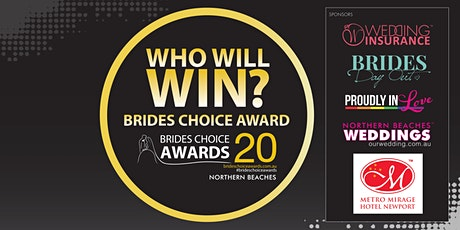 Northern Beaches Brides Choice Awards Gala Cocktail Party 2020 tickets