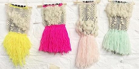 Modern Weaving: Weave a Wallhanging tickets