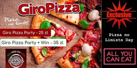 Giro Pizza  - All u can Eat tickets