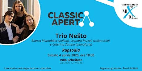 ANNULLATO 04/04/2020 Concerto Rapsodia  biglietti