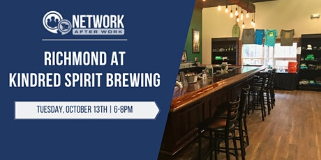 Network After Work Richmond at Kindred Spirit Brewing tickets