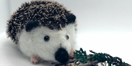 Needle Felted Hedgehog tickets