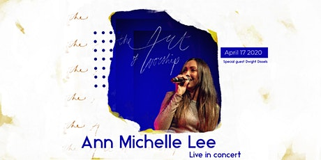 Ann Michelle Lee - Live in concert tickets