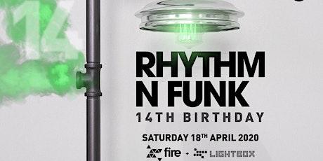 Rhythm n Funk 14th Birthday tickets