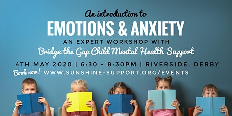 Emotions + Anxiety WEBINAR - an introduction to Emotional Literacy tickets
