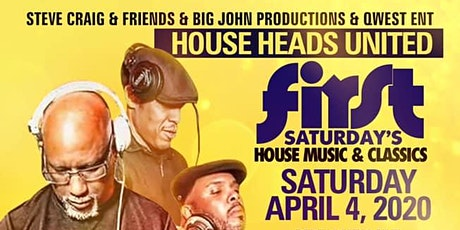 1st Saturday's House Music & Club Classics tickets
