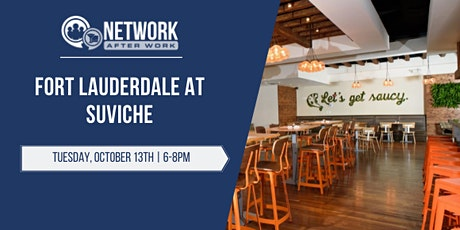 Network After Work Fort Lauderdale at Suviche tickets