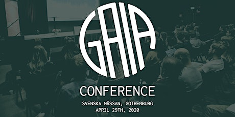 GAIA Conference 2020 tickets