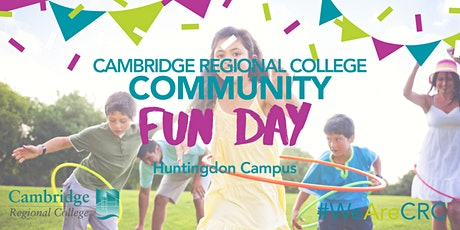 CRC Huntingdon Community Fun Day tickets