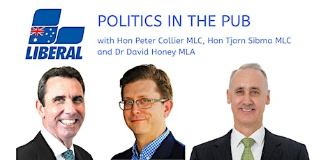 Politics in the pub - Policies for the 2021 State Election tickets