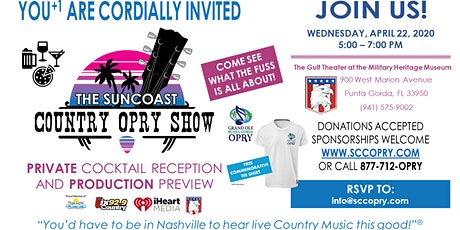 Private Cocktail Party and Showcase for The Suncoast Country Opry Show, LLC tickets
