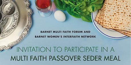 POSTPONED - Barnet Multi Faith Forum Multi Faith Seder Meal tickets