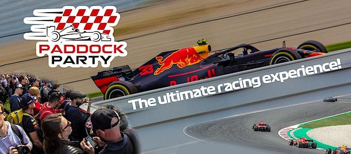"Afbeelding van Paddock Party  ""The ultimate racing experience"""