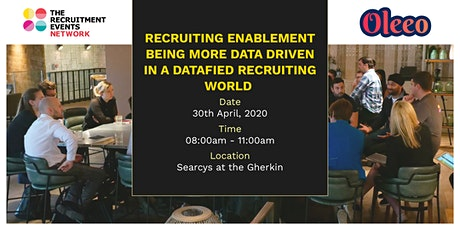Recruiting Enablement-Being more data-driven in a datafied recruiting world tickets