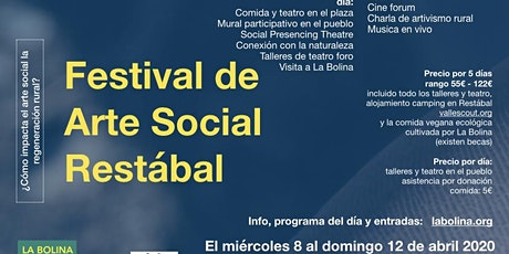 Festival de Arte Social - Restábal - Granada entradas