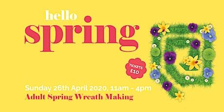 Spring Wreath Making Workshop tickets
