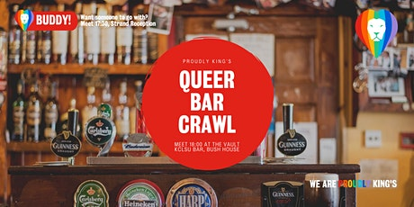 Proudly King's Queer Bar Crawl tickets