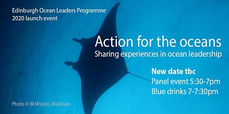 POSTPONED Action for the Oceans - sharing experiences in ocean leadership tickets