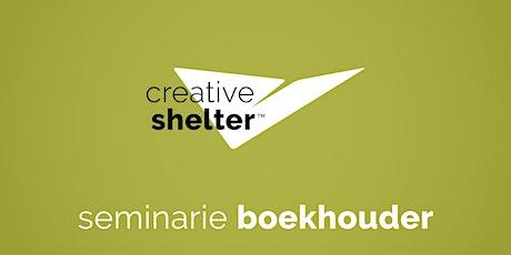 Creative Shelter seminarie voor boekhouders tickets