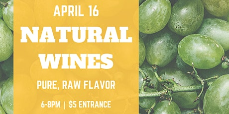Natural Wines Tasting tickets