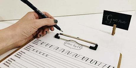 Beginners Brush Lettering + Modern Calligraphy workshop in Bushey, Hertfordshire tickets