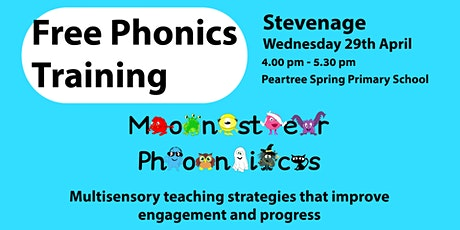 Free Phonics Training in Stevenage tickets