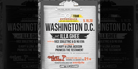 Nu90s Experience - Washington D.C.  with Illa Ghee tickets