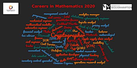 Exploring Careers in Mathematics tickets