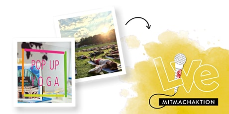 MITMACHAKTION: Pop Up Yoga München meets Hugendubel Tickets