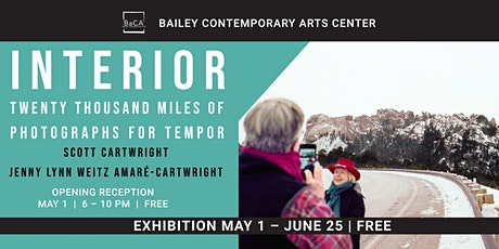 Opening Reception for Twenty Thousand Miles of Photographs for Tempor Exhibition  billets