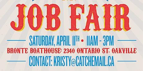 Job Fair with Catch Hospitality tickets