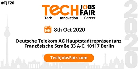 Tech Jobs Fair Berlin - 2020 tickets