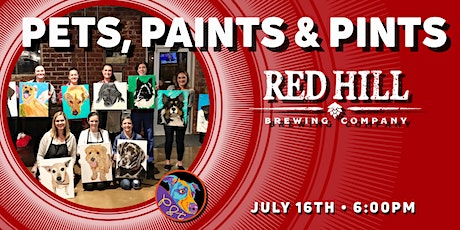 Pets, Paints & Pints at Red Hill Brewing tickets
