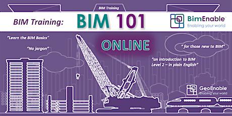 BIM 101 - Essentials of BIM and Digital Engineering [LIVE WEBINAR] tickets