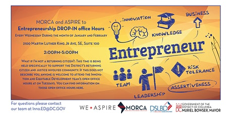 Aspire Open Office Hours at MORCA - Moving your business forward tickets