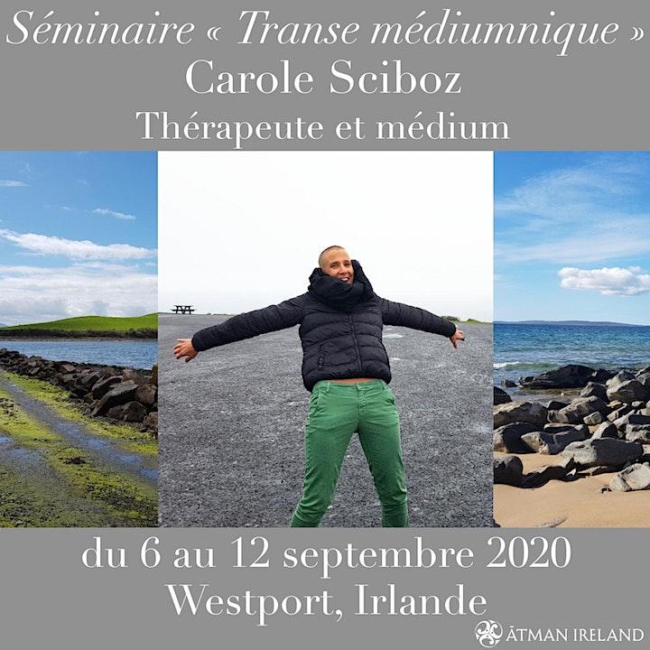 Image pour Séminaire de Transe Médiumnique avec Carole Sciboz, médium et thérapeute