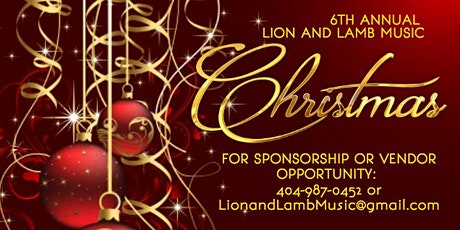 6th Annual Lion and Lamb Music Christmas Bash tickets