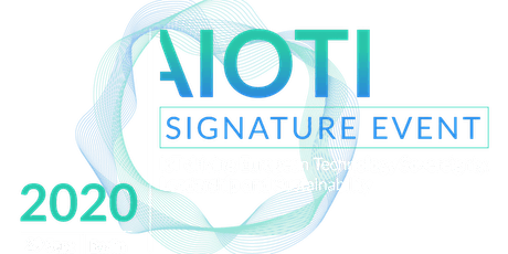 AIOTI Signature  IoT driving Europe's technology sovereignty and leadership tickets